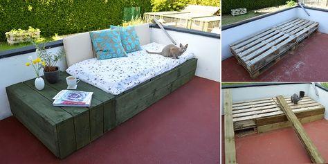 20+ DIY Outdoor Pallet Furniture Ideas and Tutorials   Fab Art DIY ...