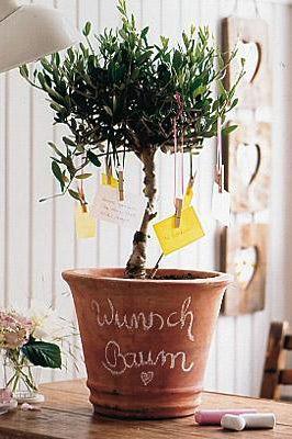 Ein Wunschbaum Fur Mama Bild 7 Wunschbaume Hochzeit Geschenk Geld Diy Geschenke Hochzeit