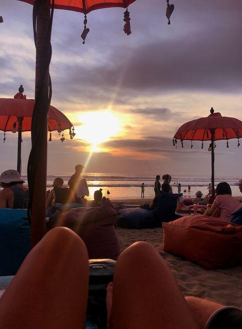 Bali, Seminyak Beach - Check out La plancha #mylovemonday #bali #travel #wanderlust #travelblog #bloggerstribe #seminyak #laplancha #beach #sunset #beautifullocations