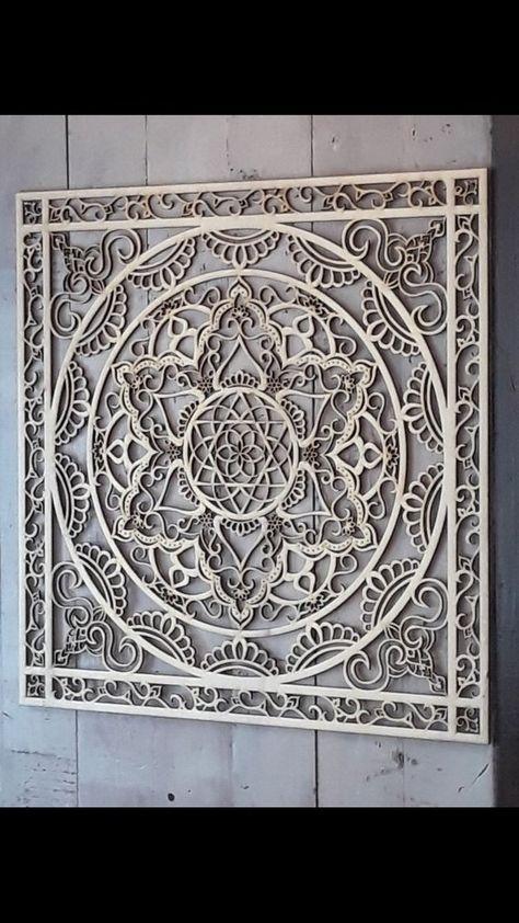 Mandala, Wall Hanging, Wood Décor, Wall Art Décor, Home Décor, Housewarming Gift, Bedroom Wall Art,