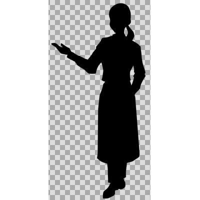 最高のコレクション イラスト 女性 シルエット 女性シルエット