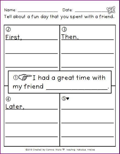 creative writing ideas for grade 2