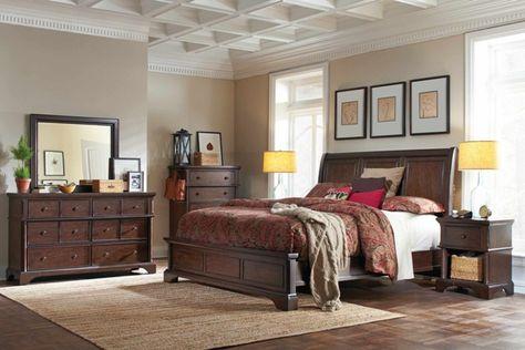 billig schlafzimmer mit queensize bett sets mit matratze brilliant, Design ideen