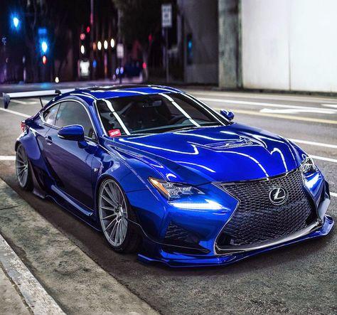Rocket Bunny Lexus RCF