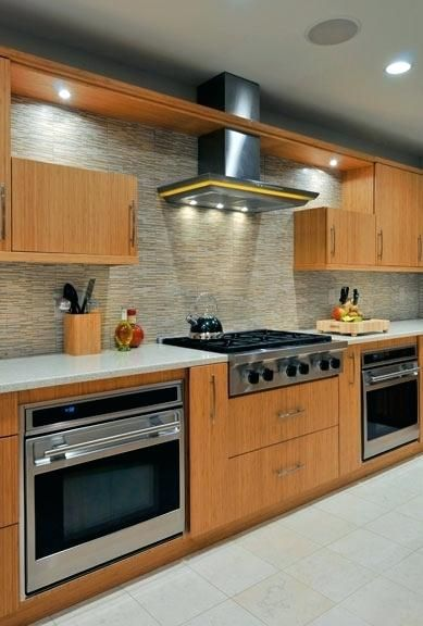 Ikea Wall Oven Under Cooktop Wall Ovens Green Kitchen