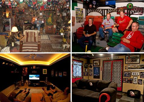 Turn a spare bedroom into a man cave
