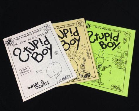 Not Available Cutegirl Ant Boy Matt Feazell vtg 1980s underground mini comic