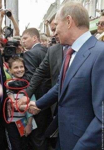 Putin and a boy - Imgur
