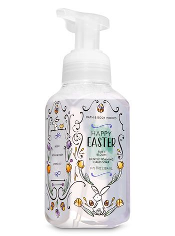 First Bloom Gentle Foaming Hand Soap Bath And Body Works Bath