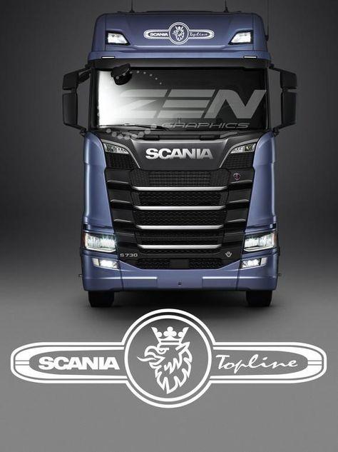 Scania Truck Lorry Hgv Tractor Unit Scania Topline Windscreen