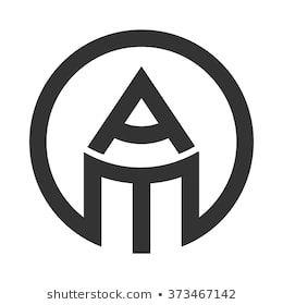 A And M Logo Vector Pencil Logo Desain Logo Ide Menggambar