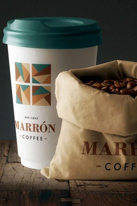 Coffee Branding Stationery Mockup