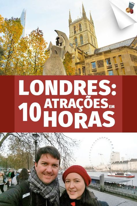 O que fazer em Londres: neste vídeo mostramos que é possível visitar A PÉ 10 das melhores atrações de #Londres em 10 horas. Aperte o play e vem com a gente!