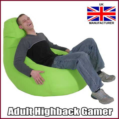 Stupendous Gamer Chair Gaming Seat Game Bean Bag Lounger Beanbag 3 Creativecarmelina Interior Chair Design Creativecarmelinacom