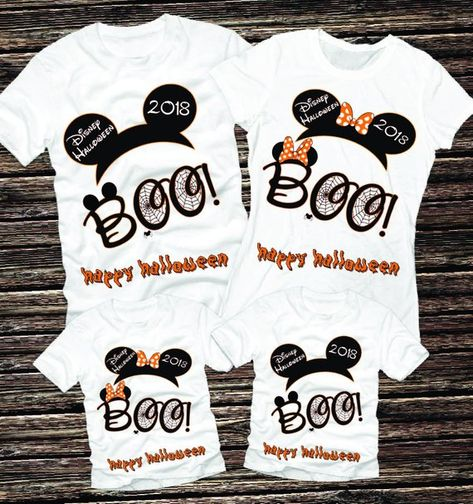 acac573608e Halloween Shirts Disney Family Shirts For Halloween Matching Halloween  Shirts Disney Halloween Shirts Mickey and Minnie Halloween Shirts ---PRICE  IS FOR ONE ...