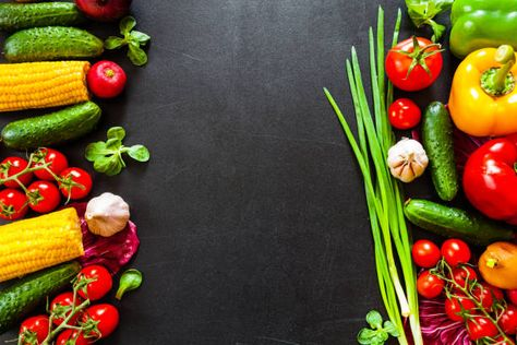 Food Background healthy food background healthy food concept with fresh vegetables