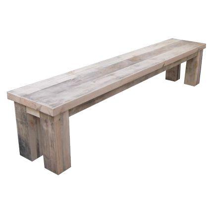 Unterwasserholz Bank Demen Unsere Unterwasserholz Kommt Aus Hollandische Kanale Das Holz Bekommt Beim H Gartenmobel Selber Bauen Gartenmobel Rustikale Bank