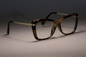 Ccspace 45548 Ladies Square Glasses Frames For Women Metal Legs Designer Optical Brillengestelle Brille Brillen Gestell