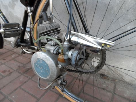 Rower Silnikiem Maw 7498354667 Oficjalne Archiwum Allegro Rat Rod Home Appliances Bicycle