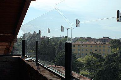 Recinzioni Antifuga Gatti.Struttura In Plexiglass Per Balconi Gatti Micio E Balconi