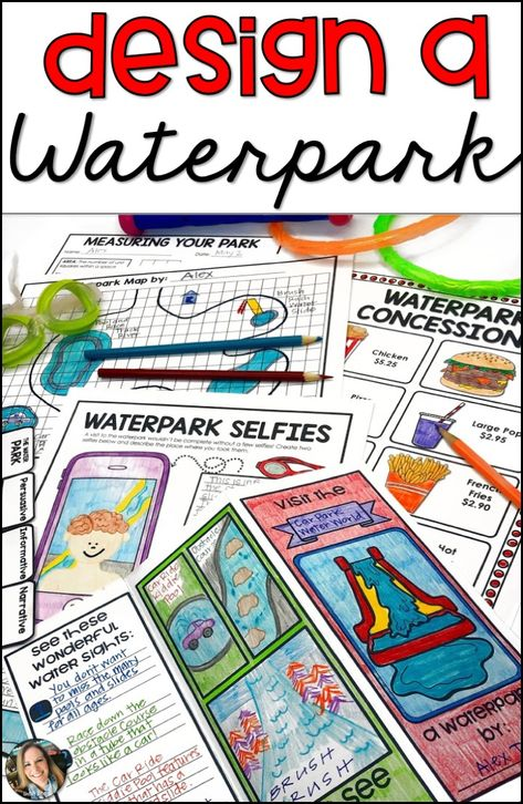 Project Based Learning Design a Waterpark PBL 5th Grade Teachers, 4th Grade Classroom, 4th Grade Math, Problem Based Learning, Project Based Learning, Creative Teaching, Teaching Math, Math Lessons, Reading Lessons