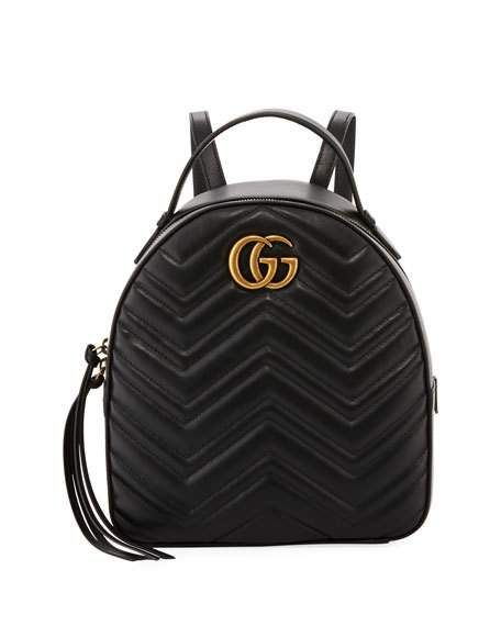 7c69f7d6975 Gucci GG Marmont Quilted Leather Backpack in 2019 | Designer ...