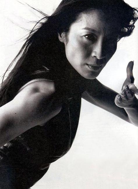 Michelle Yeoh (Yu Shu Lien in Crouching Tiger Hidden Dragon)