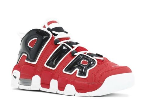 detailed look c7134 76f05 AIR MORE UPTEMPO GS White Black Varsity Red 415082 600