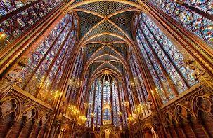 The Light La Sainte-Chapelle, Paris, France  Artist Trey Ratcliff