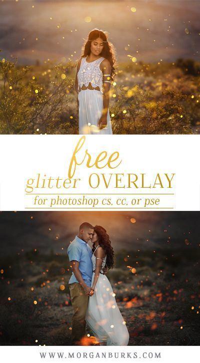 Glitter Overlay Photoshop Free : glitter, overlay, photoshop, Glitter, Overlay, Photoshop, Morgan, Burks, Overlays,, Tutorial, Graphics,, Overlays