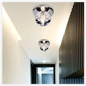 Ledシーリングライト 玄関照明 埋め込み式 ダウンライト クリスタル