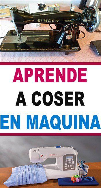 7 Formas Para Aprender A Coser En Maquina Singer Tradition Curso De Costura Sewing Machine Sewing Diy