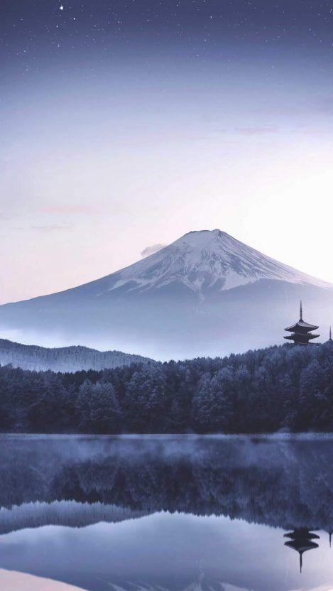 Japan Mount Fuji Morning Iphone Wallpaper Iphone Wallpaper Mountains Cool Wallpapers For Phones Iphone Wallpaper Japan Beautiful japanese wallpaper for iphone