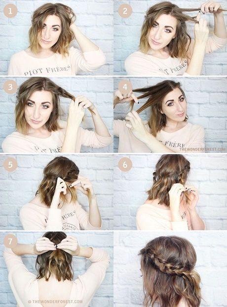 Cute easy fast hairstyles for medium length hair