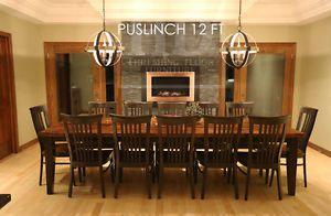Ontario Barnwood Tables Mennonite Built Ottawa Ottawa Gatineau Area Image 6 Cuisine