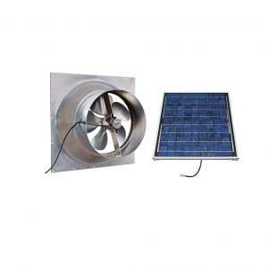 Natural Light Gable Mounted Solar Attic Fan Solar Attic Fan
