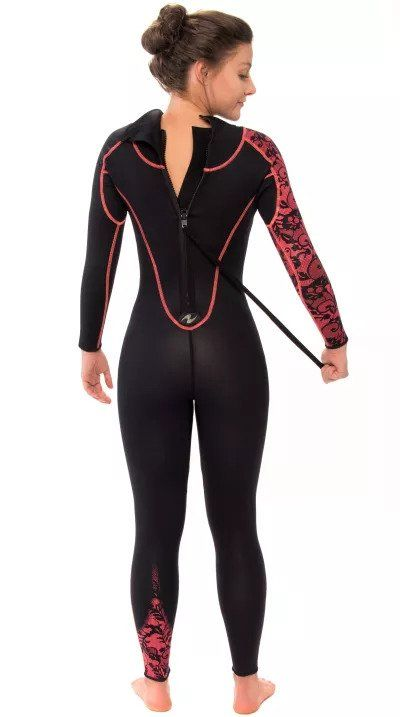 Mujer Mares Flexa Core She Dives 5mm Traje De Buceo