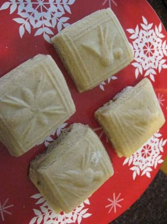 Springerle, Anise Cookies , German Christmas Cookies ~ these also were baked by my uncle in his bakery and by my Mom when I was growing up, loved them..good dunking cookies in milk, or hot beverage. I need to find a mold and try them. This site has a recipe.