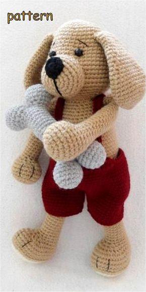 Schnitzel the Dachshund | Crochet toys free, Free crochet, Crochet ... | 580x290