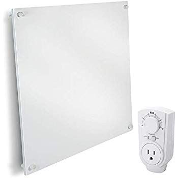 Amazon Com Wall Mount Space Heater Panel With Thermostat 400