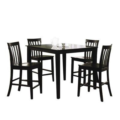 White Cane Outdoor Furniture, Wildon Home Yountville 5 Piece Dining Set Wayfair In 2020 Counter Height Dining Sets Kitchen Counter Chairs 5 Piece Dining Set