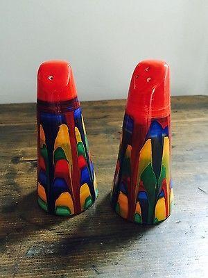 BRIAN WOOD Stunning SALT U0026 PEPPER   ART DECO CLARICE CLIFF STYLE | Salt And Pepper  Shakers | Pinterest | Clarice Cliff, Pepper And Art Deco