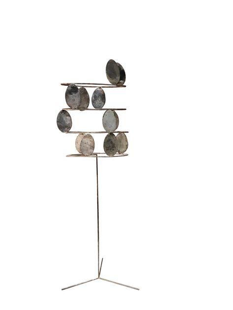 Fausto Melotti - Alberello by Fausto Melotti 1965 Solid Silver Abstract Sculpture