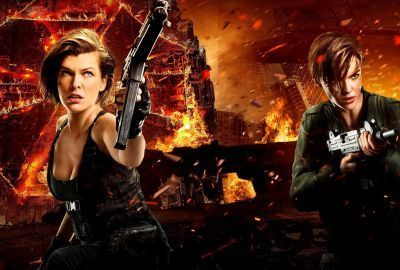 Milla Jovovich Ruby Rose Resident Evil The Final Chapter