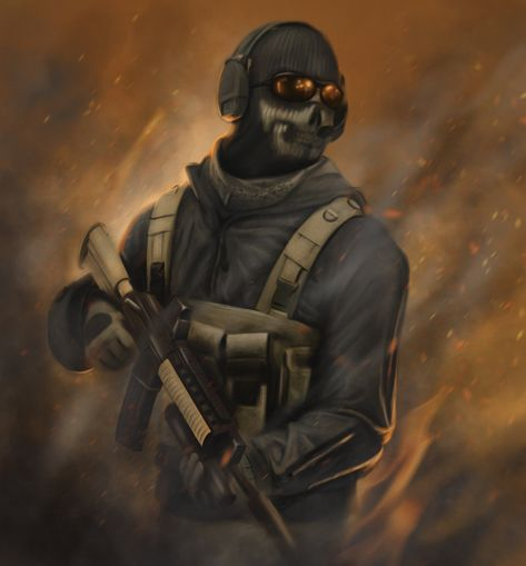 Ghost - Call of Duty - HoustonSharp.deviantart.com on @deviantART