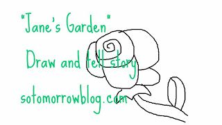 Jane's Garden Draw and Tell at So Tomorrow