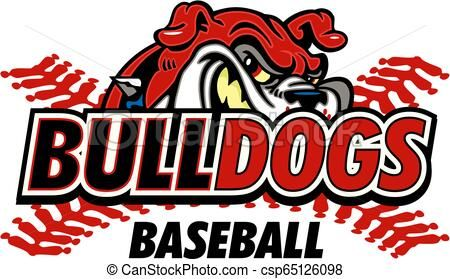 Bulldogs Baseball Vector Stock Illustration Royalty Free Illustrations Stock Clip Art Icon Stock Clipart Icons Logo Lin Baseball Vector Bulldog Baseball