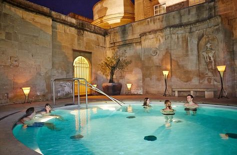 Cross Bath –is an intimate open-air thermal bath located just off the main high street in Bath