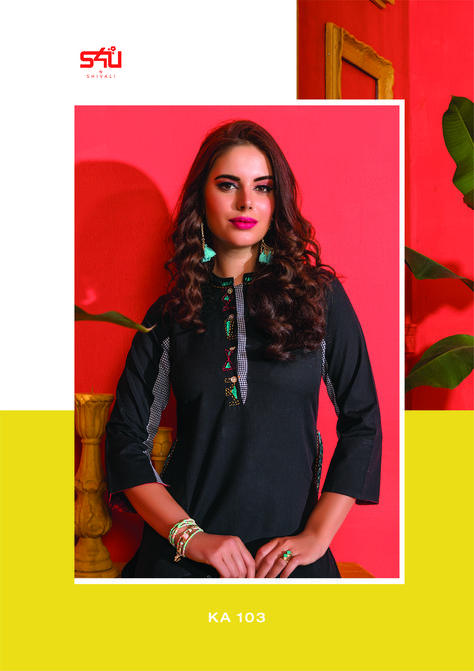 c1570217f1 Your summer wardrobe doesn't need to burst with zesty prints only - instead  opt for soft solids with a touch of unique embroidery. S4U by Shivali  proudly ...
