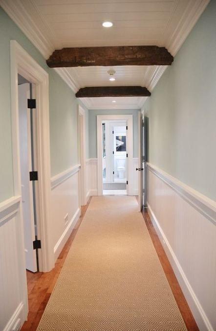 17 Trendy Ideas For Farmhouse Bathroom Beadboard Paint Colors White Wainscoting Hgtv Dream Home Hallway Colours